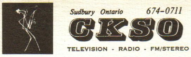 CKSO AM FM TV Cambrian Broadcasting Full Caps Logo