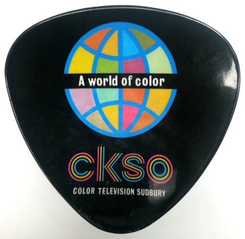 CKSO TV Promotional Ashtray